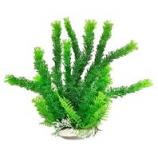 Aquatop Aquatic Supplies - Aquarium Plant With Weighted Base - Green - 9 Inch