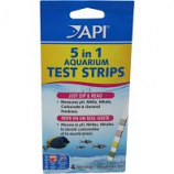 Mars Fishcare North Amer - 5 In 1 Aquarium Test Strips - 4 Count