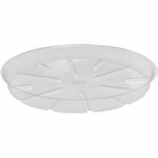 Bond Manufacturing - Plastic Saucer-Clear-14 Inch