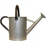 Panacea  - Aged Galvanized Watering Can-Galvanized-1 Gallon