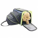 Cozy Ventilated One-Side Expandable Pet Travel Carrier for Dogs and Cats for pets up to  20 lbs