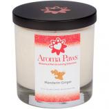 Aroma Paws - Mandarin Green Tea - Glass Candle In Box - 8 oz