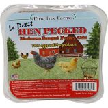 Pine Tree Farms - Hen Pecked Mealworm Poultry Lepetit Cake - 7.5 oz