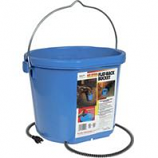 Allied Precision - Heated Flatback Bucket - Blue 5 Gallon