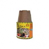 Jiffy/Ferry Morse Seed - Jiffy - Pots Seed Starters - Brown - 4 Inch/6 Pack