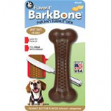 Pet Qwerks - Barkbone Flavored Nylon Bone-Peanut Butter-Medium