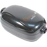 Aquatop Aquatic Supplies - AP50 Air Pump - Single Outlet - BLACK 20-60 Gallon