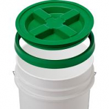 Gamma2 - Gamma Seal Lid - Green - 5 Gallon/12 Inc