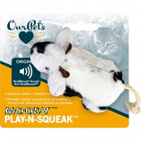 Ourpets Company - Play-N-Squeak Moody Cow