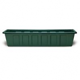 Novelty Mfg -Poly-Pro Flower Planter Liner-Dark Green-36 Inch