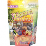 F.M. Browns-Pet - Tropical Carnival Hoops And Sm. Animal Treat - Berry - 3 Oz