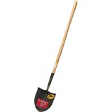 Bully Tool  - Irrigation Shovel Wooden Handle