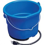 Allied Precision - Heated Flatback Bucket - Blue - 10 Quart