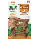 Tfh Publications/Nylabone - Healthy Edibles Broth Bone - Ham - Small/4 Ct