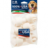 Pet Factory - USA Beefhide Bones  - 4-5 Inch