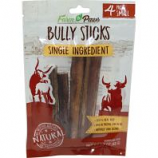 Ims Trading Corporation - Farm To Paws Bully Sticks - Beef - Small/4 Pack