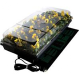 Hydrofarm Products - Germination Station With Heat Mat - Black - 11X22 Inch