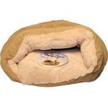 Ethical Fashion-Seasonal - Sleep Zone Cuddle Cave-Tan-22 Inch
