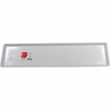 Novelty Mfg -Countryside Flowerbox Tray-White-30 Inch
