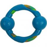 Quaker Pet Group - Godog Rope Tek Ring Dog Toy - Blue - Small