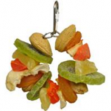 A&E Cage Company - Hbtropical Delight - Deluxe Fruit & Nut Ring - Multi - Small