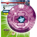 Super Pet - Container - Kaytee Run-About Ball Led - Assorted - 5 Inch