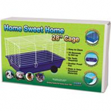 Ware Mfg- Bird/Sm An - Home Sweet Home Cage-Assorted-28 Inch