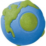 Planet Dog - Usa Globe Ball Floating Orbee Dog Toy - Mint - 3 Inch