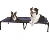K&H Pet Products - Creative Solutions Elevated Pet Bed - Blue - 32Inx50In/Xlarge