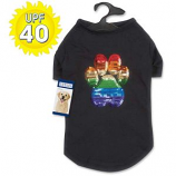 Casual Canine - Puppy Pride Sequin UPF40 Tee - Medium
