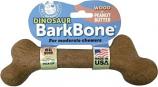 Pet Qwerks - Dinosaur Barkbone - Peanut Butter/W - XXXLarge