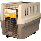 Gardner Pet Group - Elite Pet Kennel Carrier - Tan 28 Inch