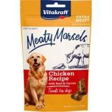 Vitakraft Pet - Meaty Morsels Dog Treat - Beef/Carrot - 4.2 Oz