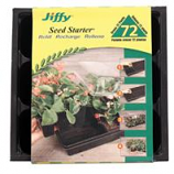 Jiffy/Ferry Morse Seed - Seed Starter Refill Cells - Black - 72 Cell