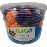 Coastal Pet Products - Turbo Mop Balls Cat Toy Canister - Multi - 36 Piece