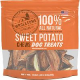 Petstages - Wholesome Pride Sweet Potato Chews - Sweet Potato - 16 Oz