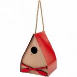Audubon/Woodlink - Lake & Cabin Red Canoe Wren House - Red