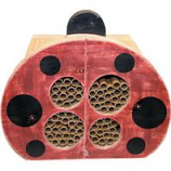 Welliver Outdoors - Welliver Mason Bee  Ladybug  House-Red & Black