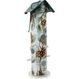Woodstream Wildbird - Pine Metal Tube Bird Feeder - Pine