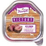 Triumph Pet - Triumph Victory Wet Cup Dog Food-Venison-3.5 Oz