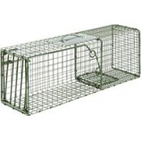 Duke Company-Heavy Duty Live Animal Cage Trap-Green-26X9X9 Inch