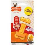 Nylabone Corp (Bones)-Dura Chew Cheese Bone-Yellow-Small