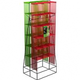 Panacea  - A Frame Trellis Display-Red & Green-20 Pc