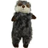 Ethical Dog - Plush Furzz Raccoon - Grey - 13.5In