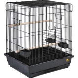 Prevue Pet Products - Parrot Bird Cage - Black - Multipack