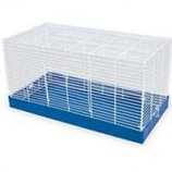 Ware Mfg. - Bird/Small Animal - Ware Pet Chew Proof Critter Cage - Blue/White - 25 Inch
