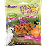 F.M. Browns-Pet - Tropical Carnival Nat Sweet Potato Yummies - Sweet Potato - 3.5 Oz