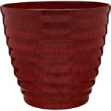 Southern Patio - Beehive Hdr Planter - Red - 14 Inch