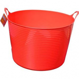 Tuff Stuff Products - Flex Tub - Red - 4 Gallon