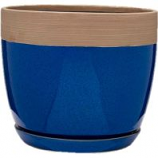 Southern Patio - Clayworks Ana Planter - Navy - 8 Inch